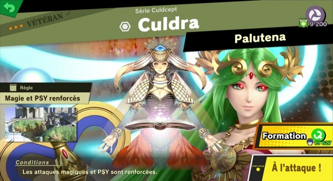 Culdra - Super Smash Bros Ultimate World of Light 3 et 4 étoile