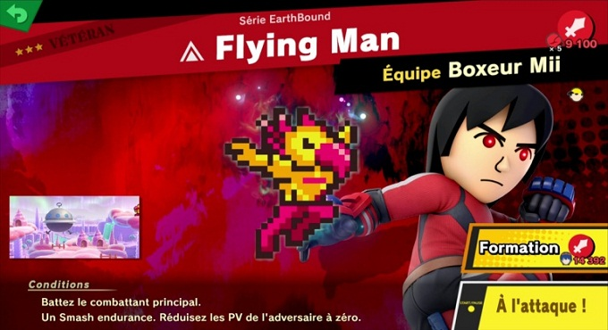 Flying Man - Guide combats Super Smash Bros Ultimate World of Light