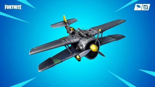 Fortnite avion X-4 Aquilon - Saison 7