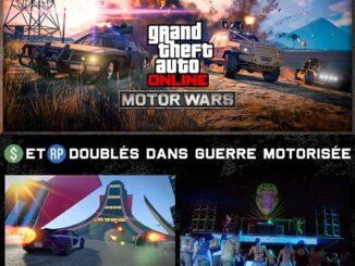 GTA Online - GTA$ et RP doublés dans Guerre motorisée