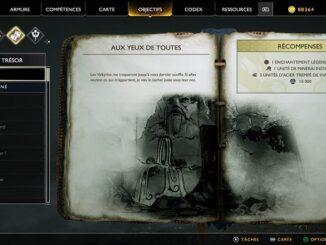 Guide God Of War PS4 Carte au Trésor Aux yeux de toutes