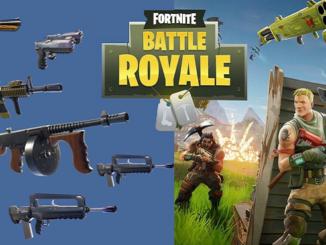 Guide des armes Fortnite Battle Royale Liste complète