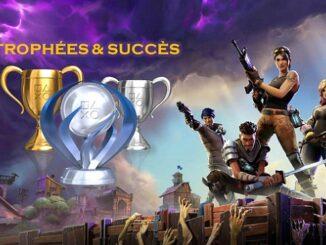 Succès et Trophées Fortnite Battle Royale