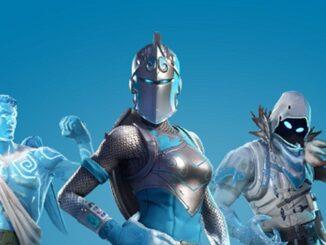 Pack Légendes glaciaires Fortnite Battle Royale
