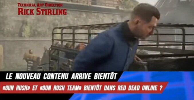 RDO Nouveau mode de jeu dans Red Dead Online