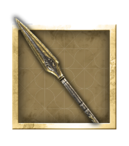 Armes légendaires Assassins Creed Odyssyey Lance d'Achille