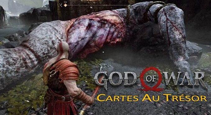 cartes au trésor God of war 4 (2018) PS4 soluce complète