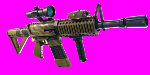 fusil d'assaut à lunette thermique Fortnite
