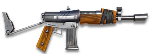 fusils d'assaut à rafales AK-47 Fortnite armes