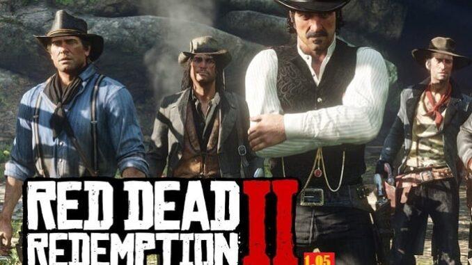 RDR2 - mise à jour Red Dead Online 1.05
