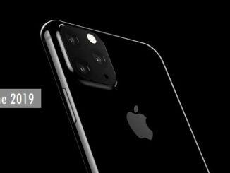 Apple triple caméra arrière iPhones en 2019