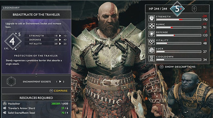 Armes légendaires God of War 4