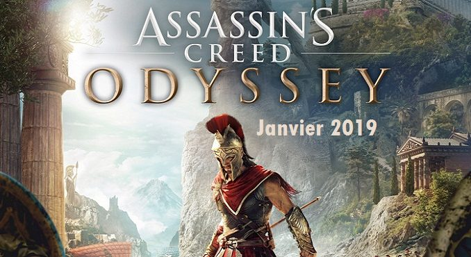 Asssassin's Creed Odyssey Nouveautés Janvier 2019