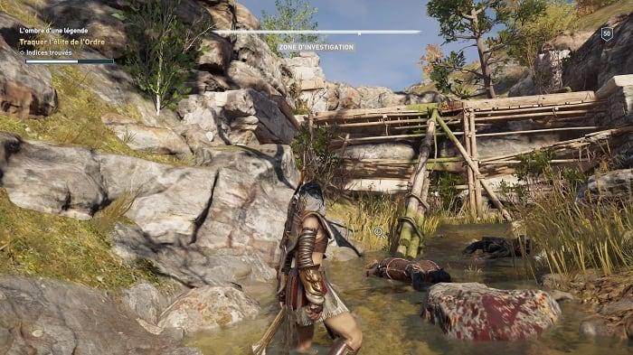 Barrage Lombre dune légende Guide Assassins Creed Odyssey Legs de la première Lame