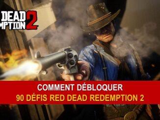 Comment débloquer les 90 Défis RDR2-Red Dead Redemption II