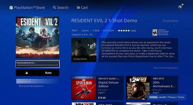 Comment télécharger la démo 1-shot de Resident Evil 2 (2019)