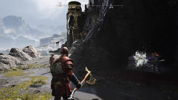 Débloquer Nilfheim royaume de la brume God of War 4