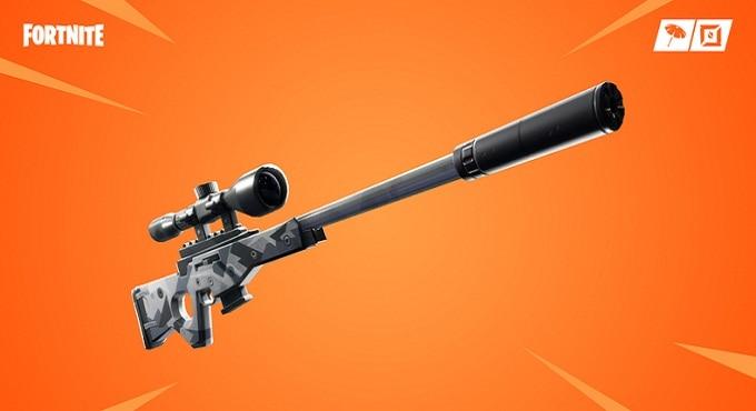 Fortnite Battle Royale Fusil de sniper à silencieux
