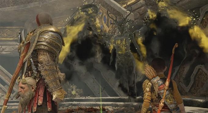 GOW 4 PS4 battre reine des Valkyries Sigrün