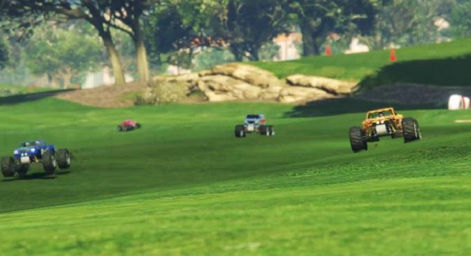 GTA Online updates RC Bandito et ses huit courses dédiées GTA$ doublés