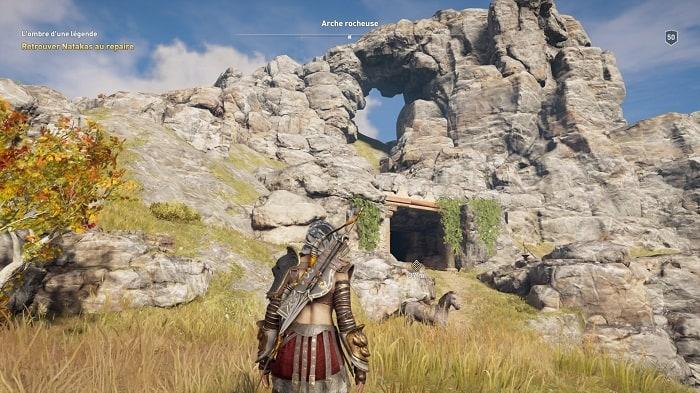 Legs de la première Lame L ombre d une légende Arche de pierre