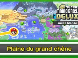Monde 1 Plaine du grand chêne Guide New Super Mario Bros U DELUXE sur la Switch