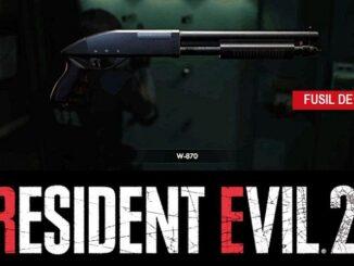 Guide Resident Evil 2 PS4 2019 fusil de chasse (Leon) w-870