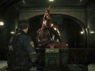 Unicorn Statue puzzle Guide Resident Evil2 2019 Comment résoudre le puzzle statue la Licorne Leon