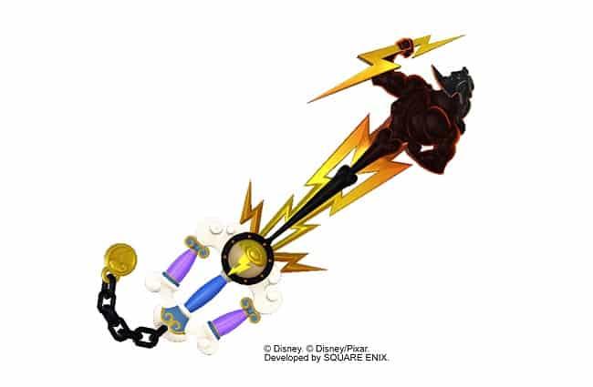 Keyblades Kingdom Hearts 3 armes