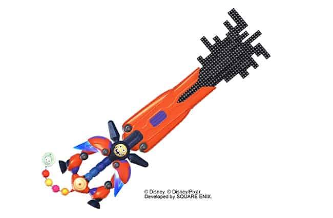 Kingdom Hearts 3 keyblade Ever After Disney mondes