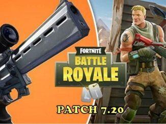 Fortnite Nouveautés mise à jour 7.20 mode battle royale Patch Note