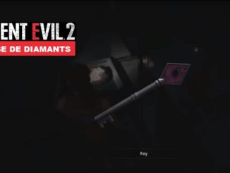 Où trouver la clé rose de diamants pink key - Guide Resident Evil 2 (Z019)