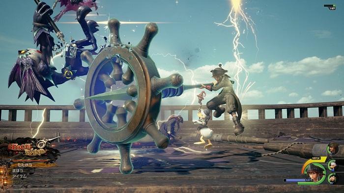 PS4 kingdom hearts 3 nouvelle gallerie images 2019