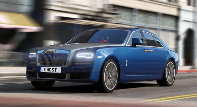 Rolls Royce Ghost SWB & EWB 2018 GTA 5 mod