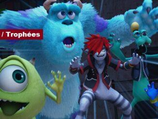 Succès Trophées Kingdom Hearts 3 sur PS4 et Xbox One KH3 2019