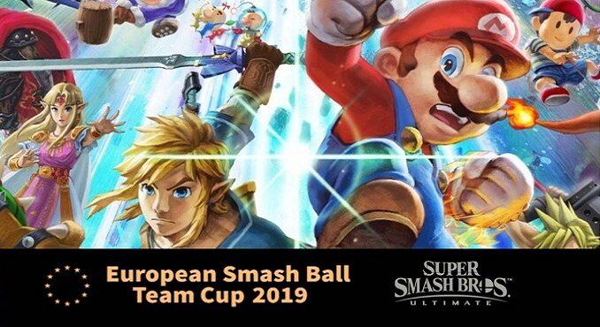 Tournoi super smash bros ultimate european smash ball team cup 2019