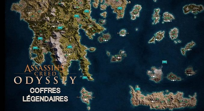 coffres légendaires ac odyssey assassins creed odyssey 2018