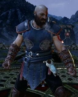 God of war guide Armure de Pillard
