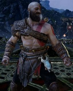 God of war PS4 Armure de l'Exil
