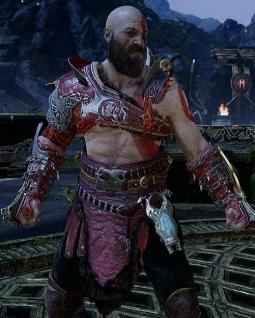 God of War PS4 Armure Mythique de puissance des Arcanes