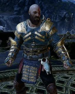 God of War 4 Armure de Vigueur