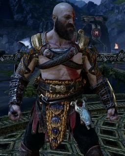 Armures légendaires God of War 4 Clarté mythique