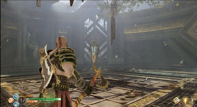 Guide combats Valkyrie Rota God of War 4