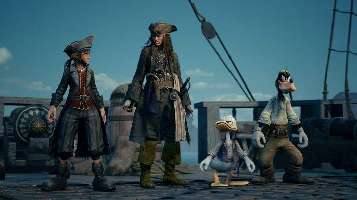 kingdom hearts 3  monde des pirates