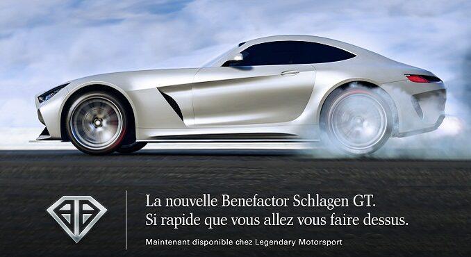 nouvelle Benefactor Schlagen GT rapide disponible sur GTA Online