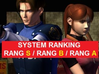 resident evil 2 remake Guide 2019 comment obtenir Rang S Rang A Rang B armes munitions