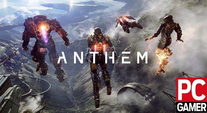 Anthem version PC Configurations PC requises Minimum et Recommandée