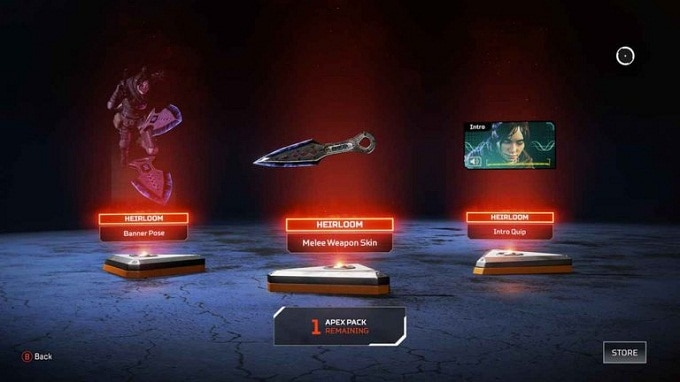Easter eggs et SecretCachet d'Apex Legends - Ensemble d'héritage