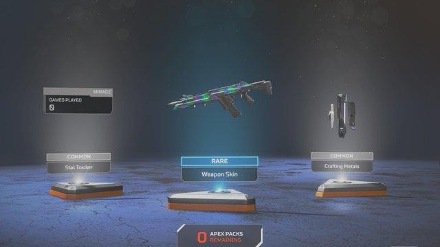Apex Legends rareté guide armes objets de guérison sacs à dos armures objets guide