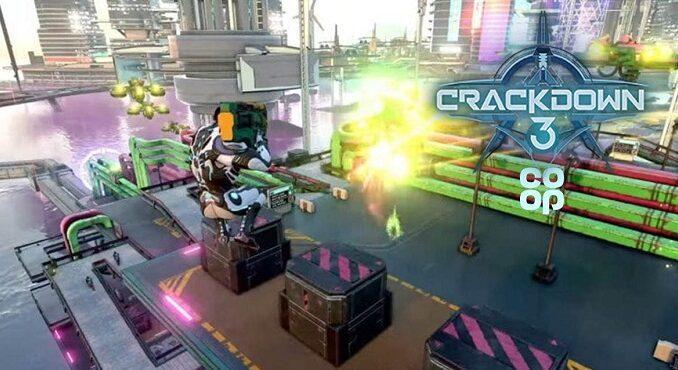 Crackdown 3 Comment jouer en coopérative co-op xbox one et pc